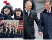 روسيا تحيى الذكرى الــ72 للنصر فى الحرب العالمية الثانية