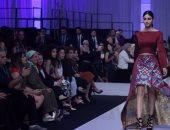 انطلاق اليوم الثانى لأسبوع الموضة la mode beyrouth بعروض المصممة فريدة تمراز
