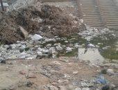 بالصور.. قارئ يشكو من طفح المجارى وتراكم القمامة بحى المرج