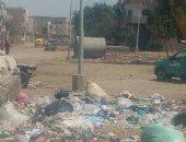 أهالى قرية دهشور بالجيزة يستغيثون بالمسئولين لإزالة القمامة