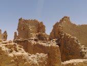 بالصور.. بقايا معبد آمون أهم المعالم الأثرية فى سيوة