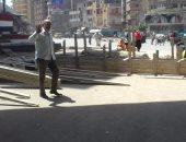 بالصور.. حى ثان المحلة: إعادة تطوير ميدان الشون وعمل محاور مرورية جديدة