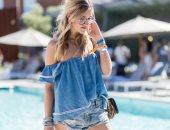 إزاى تلبسى جينز على جينز ؟ 4 قواعد أهمها اختارى درجتين مختلفتين