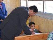 بالصور.. وكيل تعليم كفر الشيخ يتفقد لجان امتحانات الشهادة الابتدائية