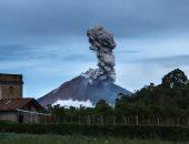 نشاط جديد لبركان سينابونج فى إندونيسيا