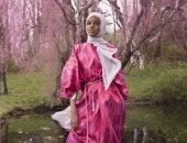 """بالصور.. أمريكا تستقبل رمضان بعرض أزياء للمحجبات ببصمة العارضة """"حليمة عدن"""""""
