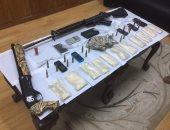 الداخلية تضبط 56 قطعة سلاح بينها رشاشات وبنادق آلية خلال 24 ساعة