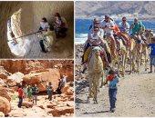 إقبال السياح على المحميات والجبال والشواطئ فى جنوب سيناء