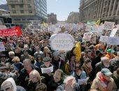 مظاهرات احتجاجية فى موسكو على استبعاد المعارضة من الانتخابات البلدية