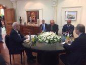 بدء اجتماع وزراء خارجية مصر والأردن وفلسطين لبحث دعم عملية السلام