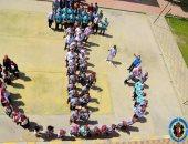 طلاب الفرقة الرابعة بمعهد المنشآت البحرية ببورسعيد يشاركون بصور حفل تخرجهم