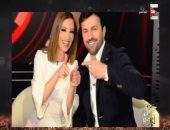 """عمرو أديب يهنئ تيم حسن ووفاء الكيلانى.. ,يؤكد: """"برنامجها قطم وسطى"""""""