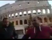 بالفيديو.. منشدون مصريون يتغنون ببردة البوصيرى فى العاصمة الإيطالية روما