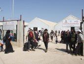وفد أممى يزور مخيم الركبان السورى لإجلاء الراغبين بالمغادرة