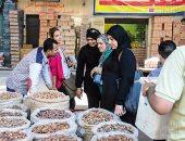 إقبال كثيف على سوق البلح  بعد جنون أسعار الياميش