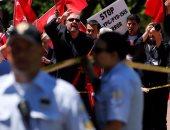 """أمريكا تنتقد أفعال حرس """"أردوغان"""" ضد المحتجين الأتراك فى واشنطن"""
