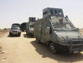 القبض على 14 هاربا من تنيفذ أحكام وتوقيف 23 مشتبها به فى شمال سيناء