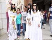 بالفيديو ... إقبال كثيف على المتحف المصرى احتفالا بالعيد العالمى للمتاحف