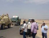 بالصور.. مجلس مدينة سفاجا يسترد 200 ألف متر  استحوذ عليها زهير جرانة