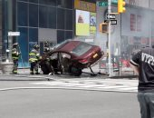 """رويترز: مرتكب حادث دهس ميدان """"تايمز سكوير"""" أمريكى ويعمل بالجيش"""