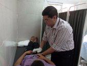 طب المنوفية تنظم قافلة طبية لأهالى قرية صفط جدام
