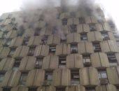 اشتعال النيران فى مكتب تأمينات بوسط البلد والإطفاء تحاول إخماده
