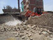إزالة 120 حالة تعدٍ على أملاك الدولة بشمال سيناء