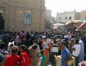 بالصور.. إقبال الآلاف للاحتفال بذكرى رحلة العائلة المقدسة فى دير السيدة العذراء بالمنيا