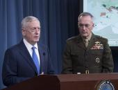 بالصور.. وزير الدفاع الأمريكى: استعادة 5000 كلم من سيطرة داعش بالعراق