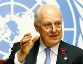 """""""دى مستورا"""" لـ""""لافروف"""": جنيف مستعدة لاستضافة المحادثات السورية فى نوفمبر"""