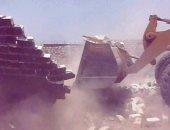 بالصور ..محافظ سوهاج : إزالة التعديات على مساحة 118 فدان بمركز جهينة