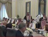 الملك سلمان وترامب يشهدان توقيع اتفاقيات بين البلدين بـ280 مليار دولار