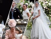 زفاف أسطورى لشقيقة دوقة كامبريدج بحضور العائلة المالكة البريطانية