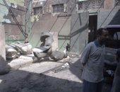 الحماية المدنية بالجيزة تسيطر على حريق مصنع أبو رواش