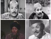 10 صور فى ذكرى رحيل الكوميديان محمد شوقى أشهر خادم فى السينما المصرية
