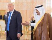 ترامب على إنستجرام: شكرا للملك سلمان نيابة عن السيدة الأولى والوفد الأمريكى