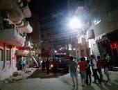 السيطرة على حريق فى شقة سكنية فى الحي الخامس بمدينة بنى سويف الجديدة