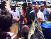 جولة لشباب دول إفريقية داخل محمية رأس محمد