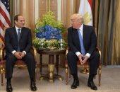 """بالصور.. ترامب يعرب لـ""""السيسى"""" عن تقديره لإطلاق سراح آية حجازى"""