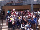 طلاب كلية تجارة أسوان يطلقون مبادرة للتبرع بالدم