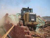 إزالة 60 فدانا و2200 متر مبانى تعديات على أملاك الدولة بطور سيناء