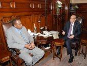 عبد المنعم البنا يبحث مع المنظمة العربية للتنمية مشروع واحة سيوة