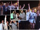 عائلة رونالدو تحتفل بفوز ريال مدريد بالدورى الأسبانى بالغردقة