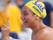 فريدة عثمان تحرز الذهبية الثانية فى بطولة افريقيا للسباحة