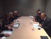 سامح شكرى يبحث مع وزيرة خارجية بلغاريا تعزيز العلاقات الثنائية