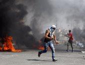 بالصور.. استشهاد شاب فلسطينى وسقوط جرحى فى مواجهات مع قوات الاحتلال
