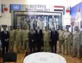 حمدى لوزا يلتقى نائب رئيس وزراء الكونغو ويزور وحدة الشرطة المصرية بالعاصمة