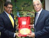 محافظ جنوب سيناء يلتقى السفير الهندى لتعزيز العلاقات وفتح أسواق سياحية