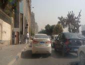 النشرة المرورية.. كثافات أعلى محاور وميادين القاهرة والجيزة