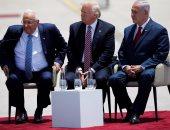 نتنياهو لترامب: نأمل فى تحقيق سلام مع الفلسطينيين مثل مصر والأردن